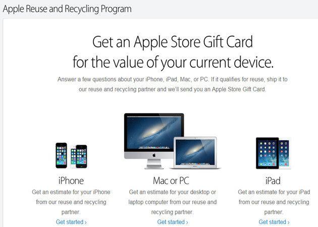 Apple compra tu móvil Android o PC Windows
