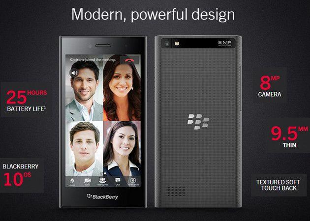 BlackBerry presenta el gama media Leap y anuncia otro modelo con pantalla curvada