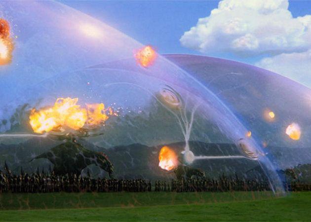 Boeing patenta un sistema de campo de fuerza para proteger los vehiculos militares de las explosiones