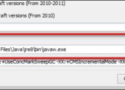 Cómo cambiar el Java de Oracle por el bundle que incorpora Minecraft