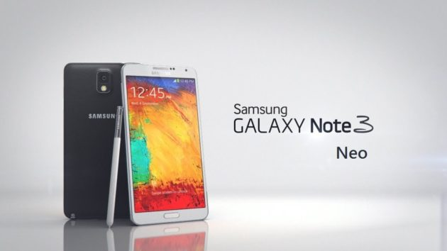 El Galaxy Note 3 Neo