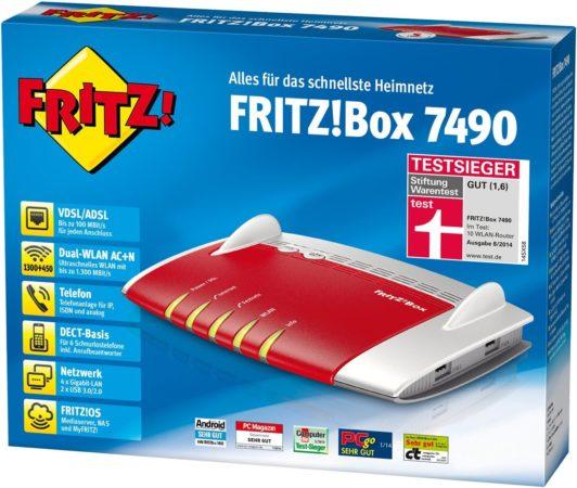 FRITZ!Box 7490 de AVM