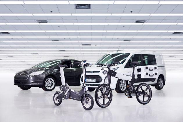 Ford experimenta con bicicletas eléctricas para desplazamientos urbanos conectados