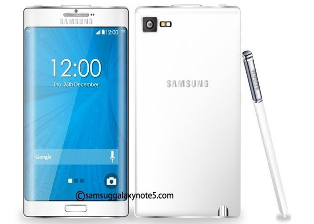 Galaxy Note 5 con diseño curvado Edge