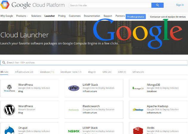 Google Cloud Platform lanza Cloud Launcher, herramienta que permite instalar diversos CMS o un LAMP con tan solo un clic