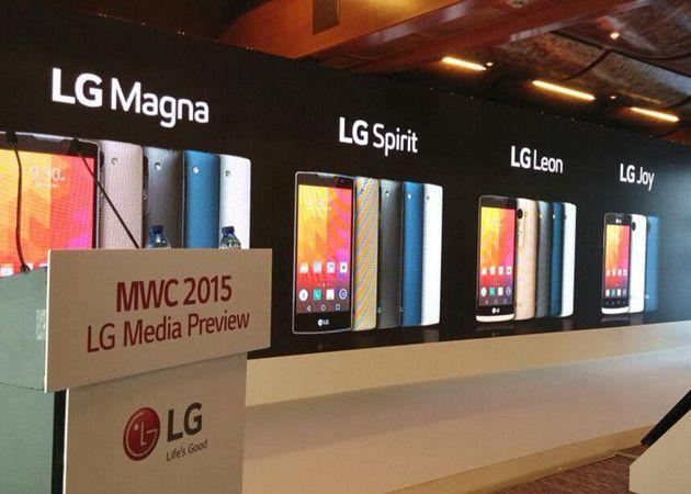 LG Magna, Spirit, Leon y Joy