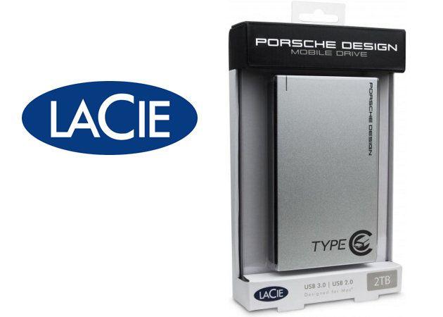 LaCie muestra un disco duro externo Porsche Design con interfaz USB Type-C