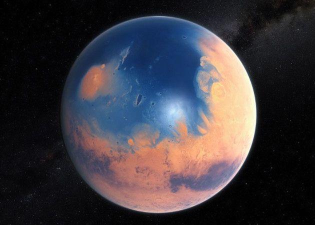 Marte tuvo agua líquida