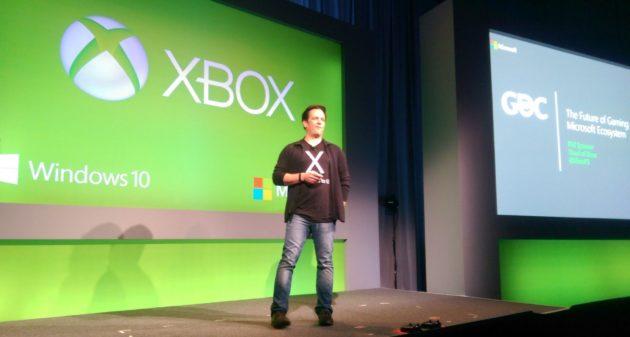 Microsoft en la GDC 2015 Spencer