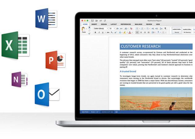 Microsoft publica la previa de Office 2016 para Mac