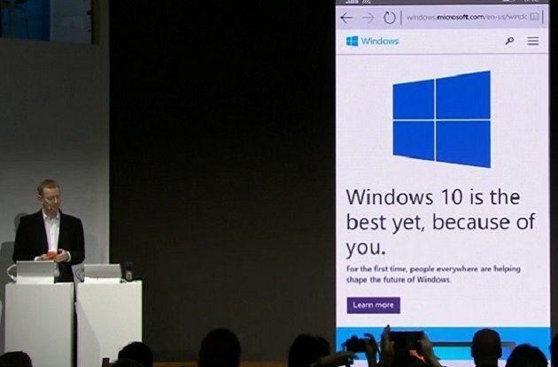 Spartan para Windows 10 Phone