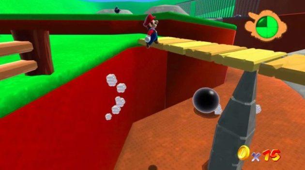 Recrean el primer nivel de Super Mario 64 con Unity (jugable)