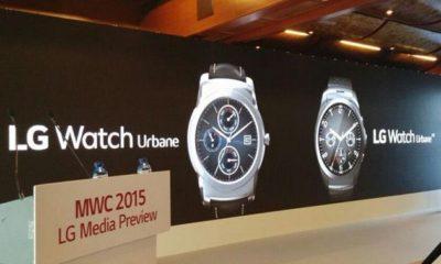 LG presenta nuevo reloj inteligente Watch Urbane con Android Wear 75