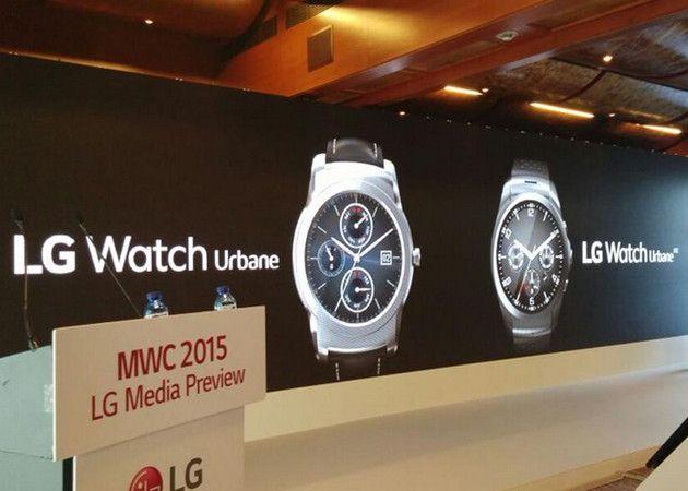 LG presenta nuevo reloj inteligente Watch Urbane con Android Wear 29