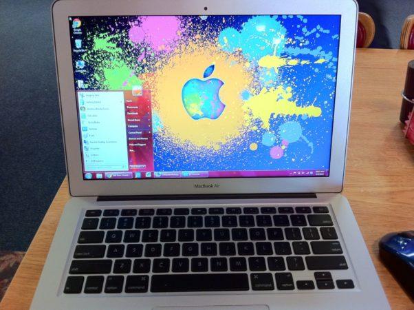 Windows 7 en sus nuevos MacBook