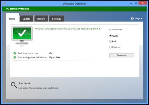 Windows Defender es el peor antivirus, según AV-Test
