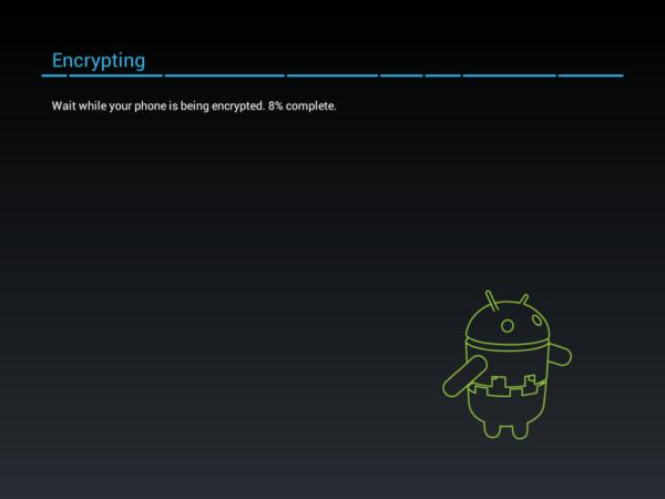 cifrado por defecto en Android Lollipop