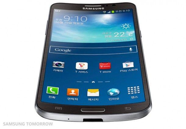 Samsung patenta nuevo concepto de smartphone flexible