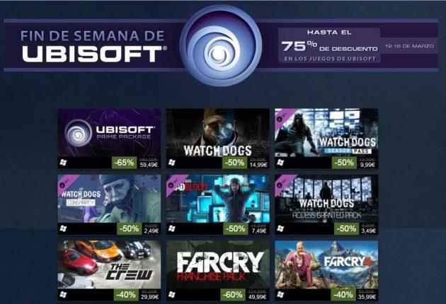 descuentos en juegos de Ubisoft
