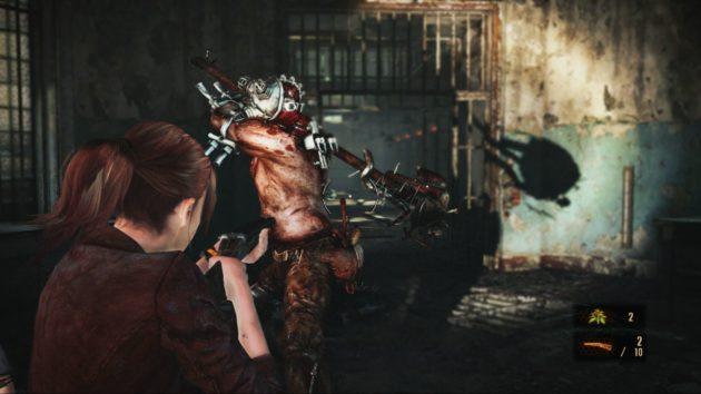 física de Resident Evil Revelations 2