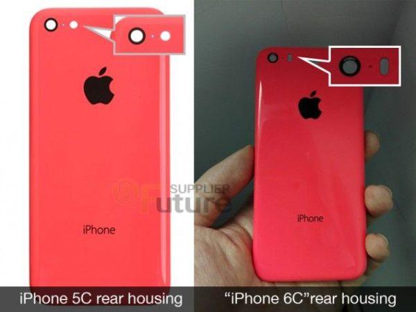 Estas serían las primeras imágenes del iPhone 6C