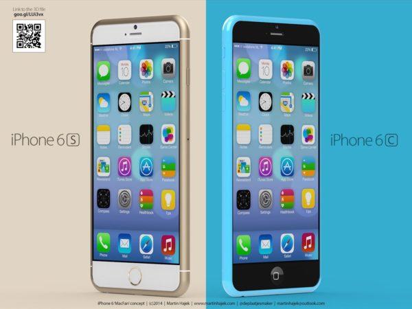 iPhone 6S con 2 GB de RAM y SoC A9
