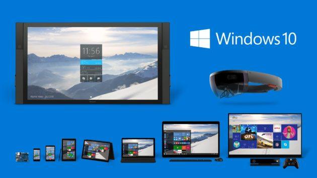 imágenes de Windows 10 build 10031