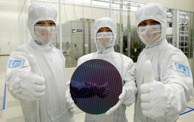 memoria NAND 3D de 48 capas