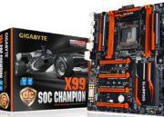 GIGABYTE lanza nuevas placas X99 dentro de su gama Champion