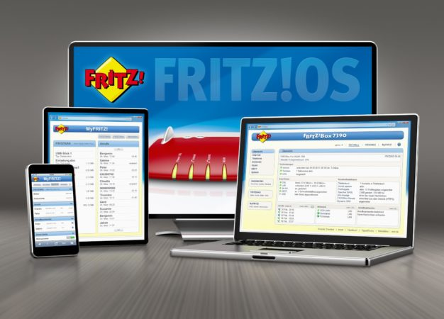 sistema operativo FRITZ!OS