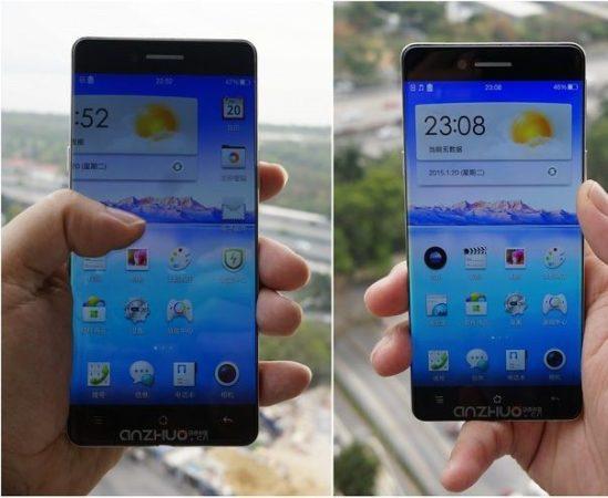 smartphone sin bordes de Oppo