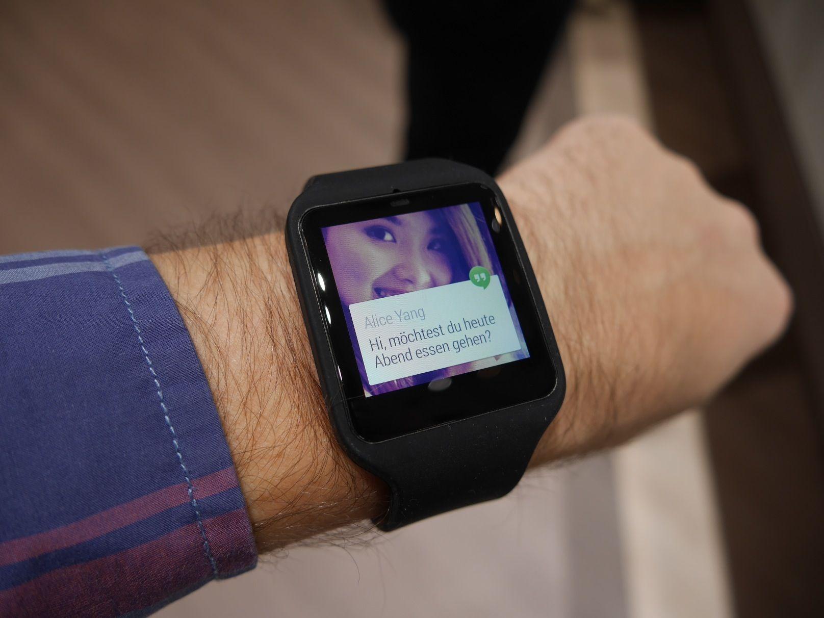 Inteligente Semanas Reloj Sony Tres Smartwatch 3 El Con Mis 5q34jLAR