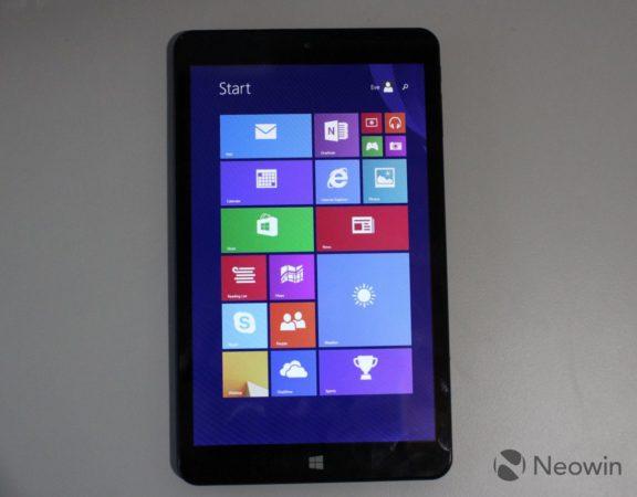 Eve T1, una tablet con Windows 8.1 muy capaz a buen precio