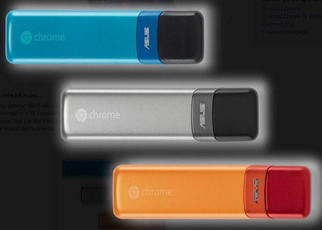 ASUS Chromebit, mini-PC Chrome OS en formato stick