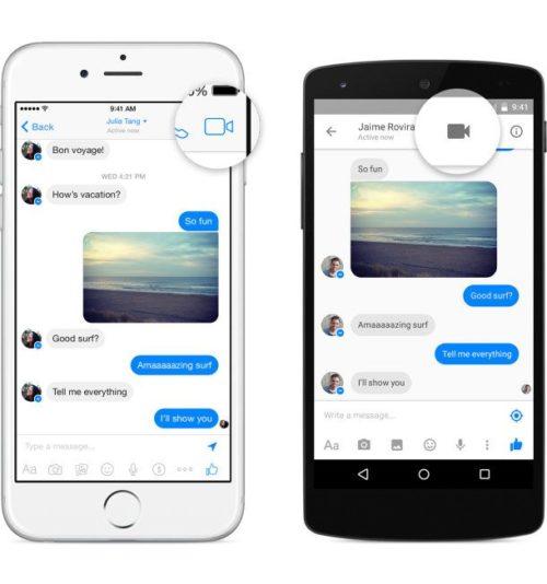 Cómo iniciar una videollamada en Facebook Messenger