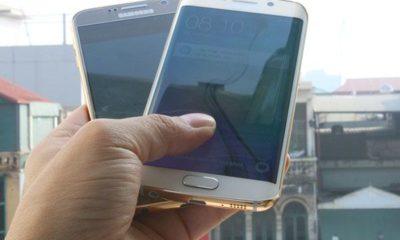 Galaxy S6 y S6 Edge con marco de oro de 24 quilates 95