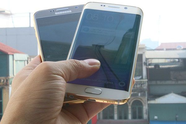 Galaxy S6 y S6 Edge con marco de oro