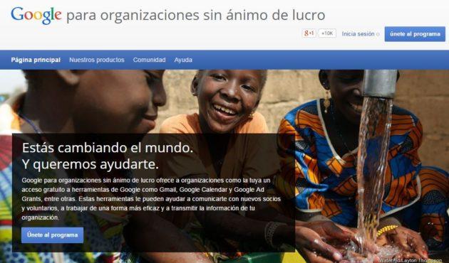 Google nonprofit