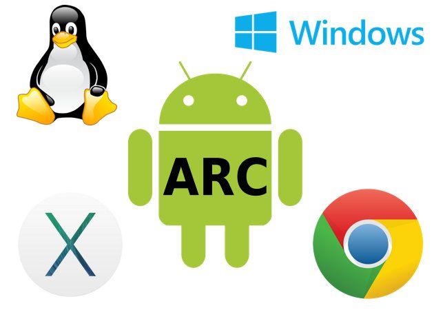 Google permite que cualquier desarrollador pueda ejecutar sus aplicaciones Android sobre ARC, lo que ha abierto la posibilidad de ejecutar aplicaciones Android sobre Windows, Mac, Linux y Chrome OS