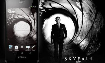 James Bond sólo usa lo mejor, así que abandonaría los Xperia 116