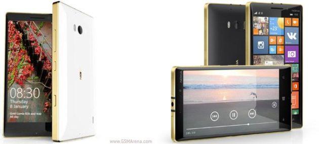 Lumia 930 y 830