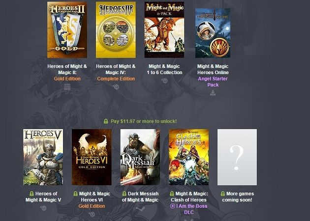Humble Bundle Heroes of Might and Magic, no te lo puedes perder 30