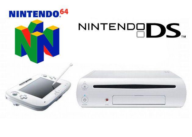 Nintendo lanza Virtual Consola para Wii U, que permite ejecutar juegos de Nintendo 64 y Nintendo DS