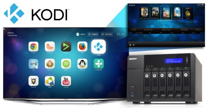 QNAP mejora la experiencia multimedia con Kodi 28