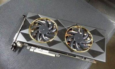 Esta sería la XFX Radeon R9 390, Fiji en versión recortada 75