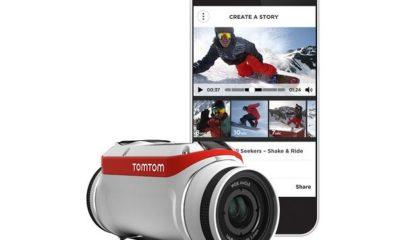 TomTom Bandit, nueva cámara de acción con servidor multimedia 32
