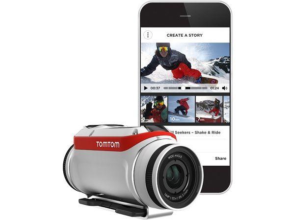 TomTom Bandit, nueva cámara de acción con servidor multimedia