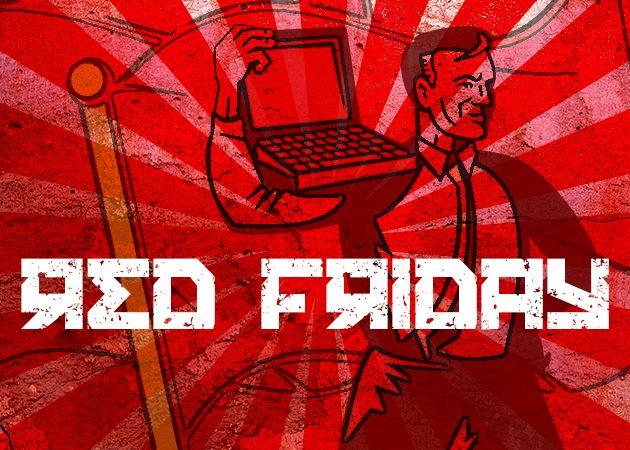Red Friday: el rojo es pasión, y también buenos precios
