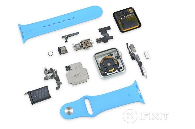 iFixit desmonta el Apple Watch y le da un 5 sobre 10 30