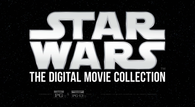 Star Wars disponible en Digital HD desde el 10 de abril